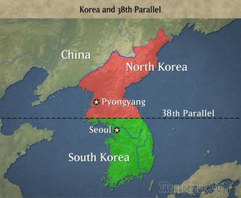 Почему Северная и Южная Корея разделились