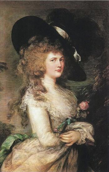 """Томас Гейнсборо (1727–1788): """"Портрет Джорджианы, герцогини Девонширской"""