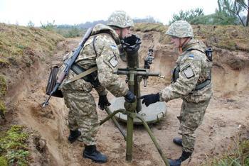 Новейший украинский миномет «Молот» взрывается при использовании