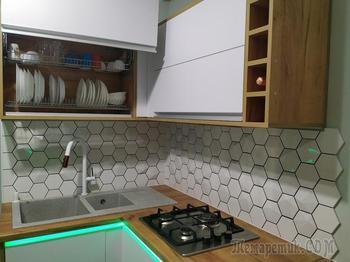 Сделали классную кухню за 3400 рублей
