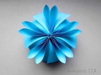 Цветок из бумаги Поделки для детей