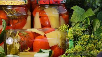 Консервированные помидоры с перцем на зиму. Вкуснее Вы не найдёте!