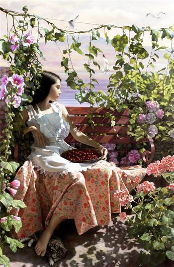 Романтизм женских образов в совместном творчестве Андрея Беличенко и Марии Бухтияровой