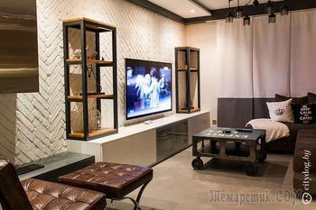 Двухуровневая квартира с экологичным дизайном