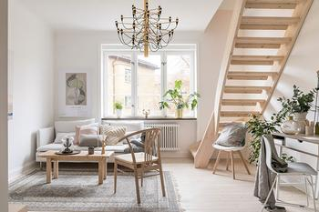Простота, которая притягивает: очаровательная квартира в Мальме