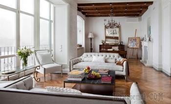 Квартира в классическом стиле на Смоленской набережной