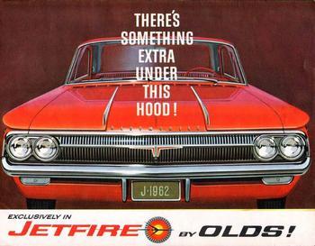 Первый серийный турбо: Oldsmobile F-85 Jetfire 1962 года