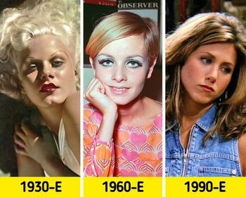 Как менялась мода на причёски за последние 100 лет