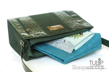 Bag in bag — шьем удобный органайзер для сумки