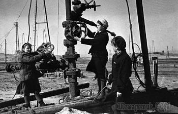 «Чёрное золото» в судьбе России в царское и советское время