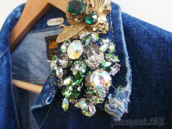 Как украсить одежду? Украшения одежды цветами, вышивкой, бисером, стразами