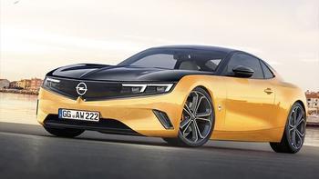 Opel Manta 2022: возрождение двухдверного купе Опель