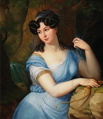 Синее-голубое платье . Часть 2.