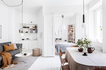 Компактная квартира в Гётеборге, где всему нашлось своё место (42 кв. м)