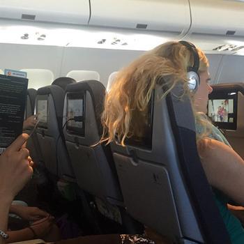С такими пассажирами не хочется рядом сидеть