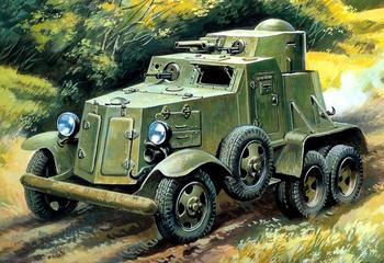 Давали фору танку: «четвёрка» лучших бронированных автомобилей Советского Союза