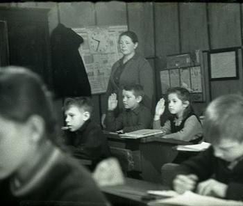 Советская школа в деревне 1964 г.