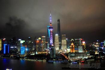 Китай 2018.19. Шанхай. Очарование вечернего Пудуна
