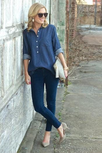 Стильные и удобные джеггинсы — Как и с чем носить?