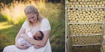Элизабет Андерсон-Сьерра пожертвовала 2,5 тонны грудного молока, вырабатывая его в 10 раз больше других мам