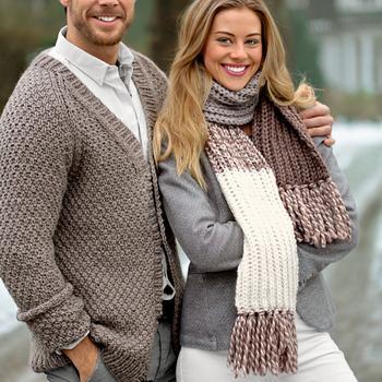 Вязание шарфа: оригинальные модные схемы вязания спицами и крючком