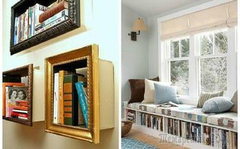 17 интересных идей по организации пространства для книг в квартире