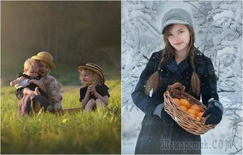 25 ярких фотопортретов, которые переносят в волшебный мир детства
