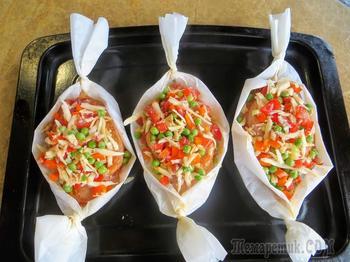 Все теперь будут просить этот рецепт / Куриные лодочки с овощами