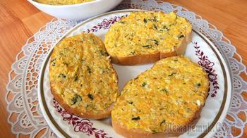 Бутерброды с овощной начинкой. Видео рецепт