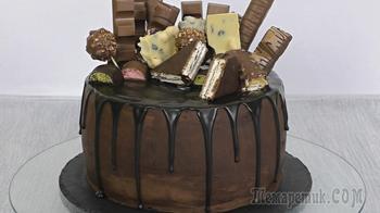 """Муссовый торт """"Киндер Пингви"""""""