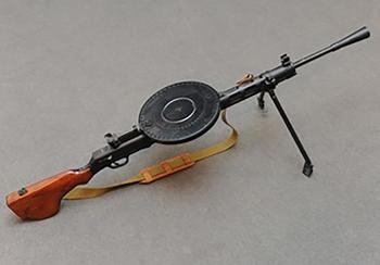 С блином, но не комом: удивительная история пулемета Дегтярева