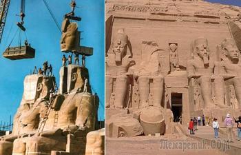 Зачем египтяне поднимали древние храмы на высоту 20-этажного небоскрёба и как они это сделали