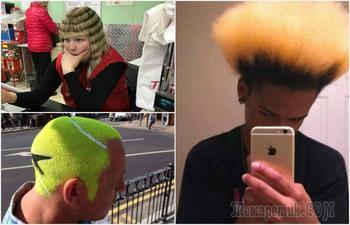 17 «счастливчиков», чьи парикмахеры обезумели и сотворили с волосами нечто