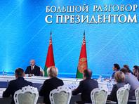 """Лукашенко потребовал от России перестать защищать интересы """"олигархического бизнеса"""" и прекратить """"оголтелую пропаганду и нападки"""" на украинские власти"""