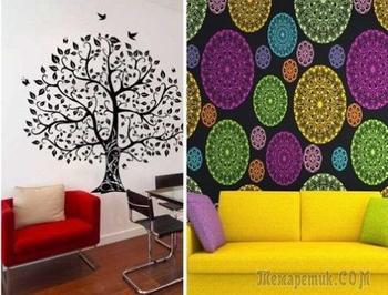Идеи дизайна стен, которые помогут кардинально преобразить любую комнату