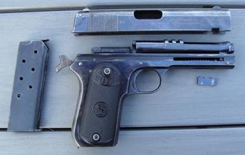 Пистолет Кольт Модель 1903 года карманный калибра