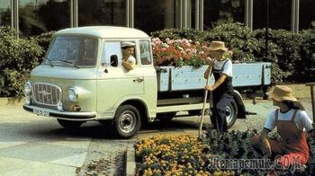 История разработки микроавтобуса Barkas B1000