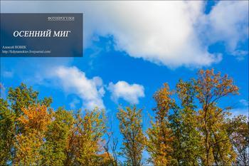 Фотопрогулка. Осенний миг