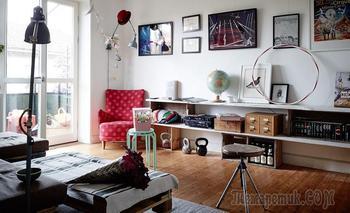 Богемная квартира 48 м² в Стокгольме