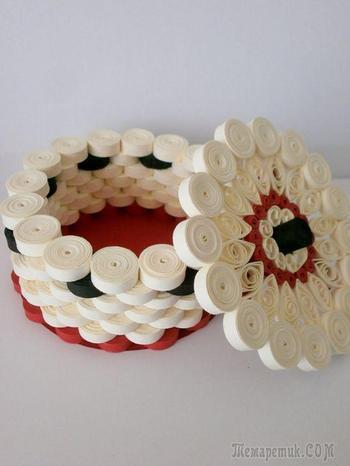 Квиллинг – необычный декор из бумаги