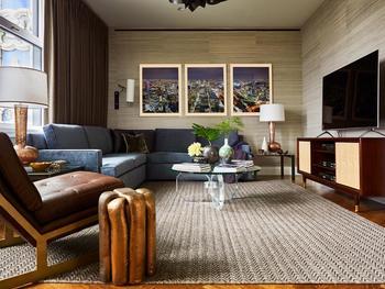 Образцовые апартаменты в Нью-Йорке