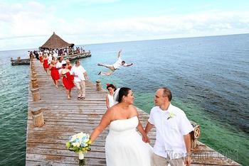 Свадебные кадры, вызывающие только одну эмоцию — смех