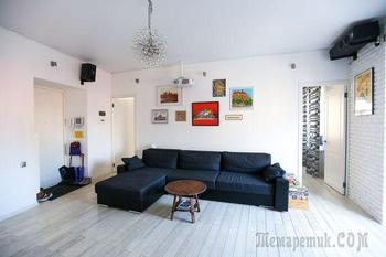 Светлая квартира 60 м² на Садовом кольце