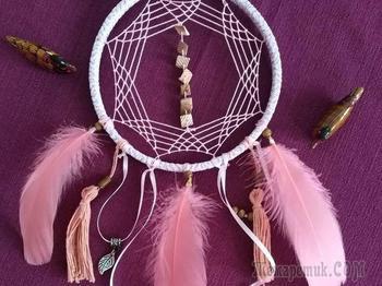 Плетение «Ловца снов» оригинальным способом