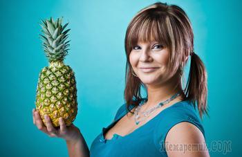 Топ — 15 полезных свойств ананаса