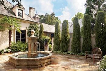 20 потрясающих декоративных фонтанов, которые добавят на ваш садовый участок волшебства и уюта