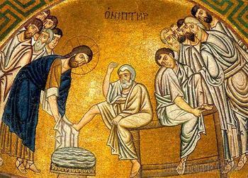 Ноги и Христос