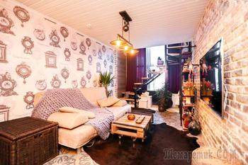 Двухэтажная квартира 42 м² на Автозаводской в бывшем здании ЗИЛа