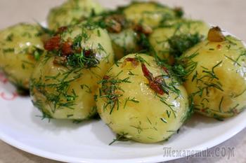 Любимый рецепт молодого картофеля