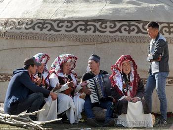 Киргизы делают выбор между нищетой и русским языком
